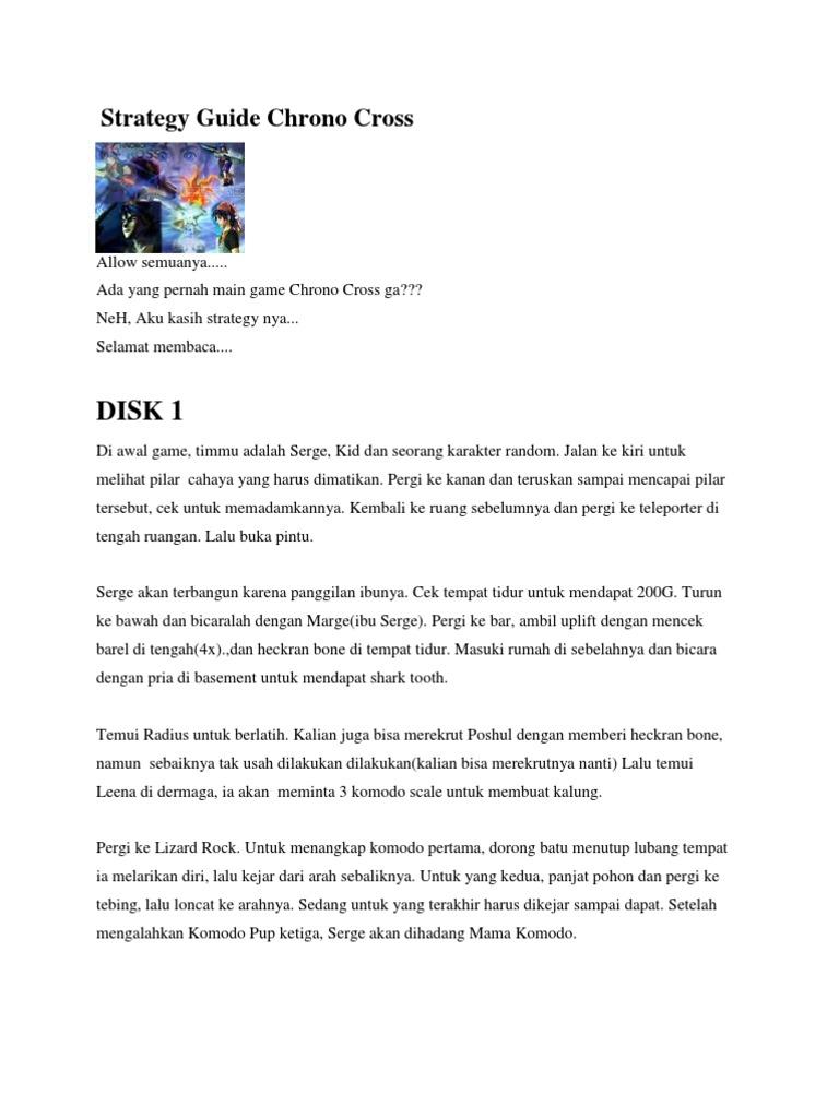 Chrono cross grand slam prizes for mega