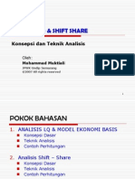 Analisis Lq & Shift Share