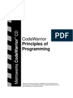 Code Warrior - Principles of Programming