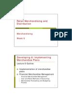 Retail Merchandising and Distribution_week 6