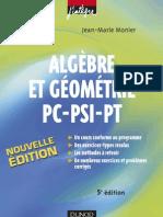 Algebre_et_Geometrie_PC-PSI-PT