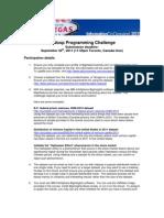 Hadoop Programming Challenge Details