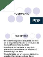 Clase Puerperio