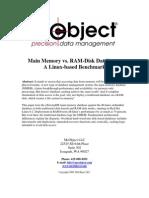 RAM Disk Database