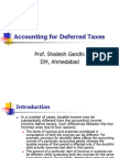 Accounting for Deferred Taxes-2011