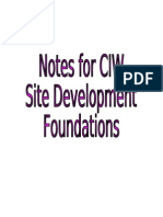 CIW Site Dev Ques & Answ