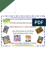 Cartaz Do Show de Talentos_28 de Maio