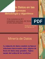 Minería de Datos en las Empresas
