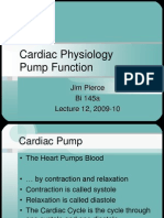 no Cardiac Physiology Pump Function[1] Preload Afterload
