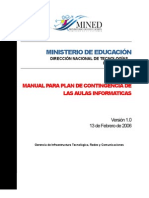 Manual de Contingencia de Las a IV 1