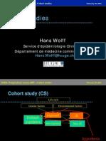 Cohort Studies Wolff WHO 2007