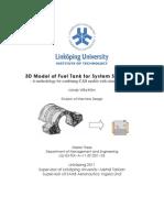 3D Model of Fuel Tank for System Simulation (en)