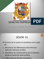 DERECHO EMPRESARIAL.SESIÓN 01