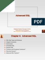 Advanced SQL 160