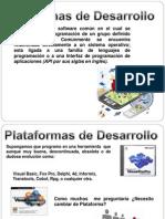 Plataformas de Desarrollo