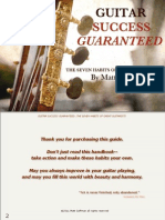 Guitar Success Guaranteed