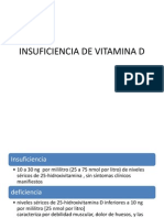 Insuficiencia de Vitamina d