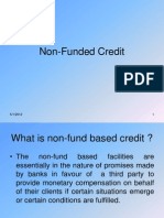 Non-Funded Credit (Bank Guarantee)