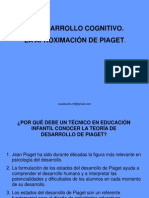 El Desarrollo Cognitivo La ion de Piaget[1]