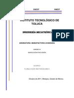 Manufactura Avanzada Unidad 3 Resumen