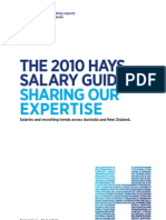 Hays Salary Guide 2010 AU Mfg Nrg Oil