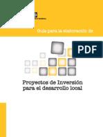 Guia elaboracion proyectos para el desarrollo local