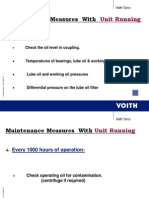 Maintenance & Trouble Shooting of Voith Coupling