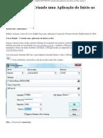 Criando Aplicativo Delphi 2009-2010