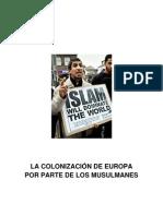 La colonización de Europa por parte de los musulmanes