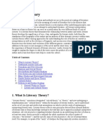Brief Literary Theory