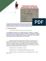 CONSTRUCCIÓN DE MÁQUINAS DE VAPOR