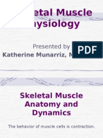 Muscle Physiology (Dr