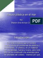 Basura Plastica en El Mar