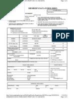 Pag Ibig+Member's+Data+Form+(MDF)+Print+No.+911146020078