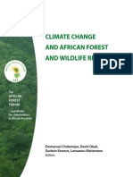 Climate Change and African Forest and Wildlife Sept2011