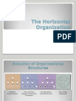 The Horizontal Organization