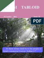 Tabloid November 2011
