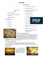 Lasagne Ret