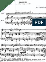 Marcello - Concerto for Oboe