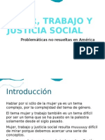Mujer, Trabajo y Justicia Social