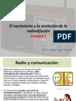 El nacimiento y la evolución de la radiodifusión 1