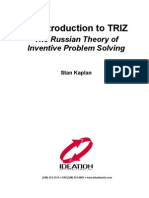 Quantative Analysis - TRIZ