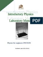 PHYS.192 Manual