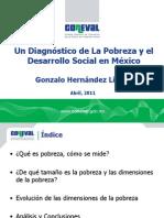 Diagnostico de La Pobreza en Mexico