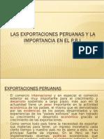 Las Exportaciones Peruanas y La Import an CIA en Elperu