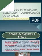 TECNICAS DE INFORMACION, EDUCACION Y COMUNICACIÓN SALUDPUBLICA