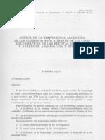Los primeros años de la arqueología en la Argentina