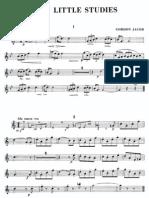 Jacob - Ten Little Studies (Oboe and Piano)