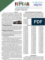 THUPUAK Volume 6, Issue 23 November 13, 2011