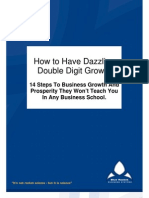 Dazzling Double Digit Growth FREE Report